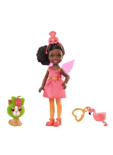 Barbie Kostümlü Chelsea ve Hayvancığı Oyun Setleri GHV69-GJW30 Renkli